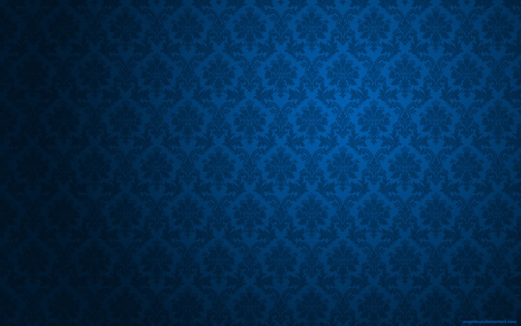 Victorian Blue Wallpaper