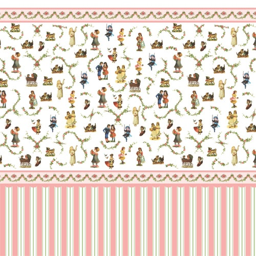 Victorian Dolls House Wallpaper