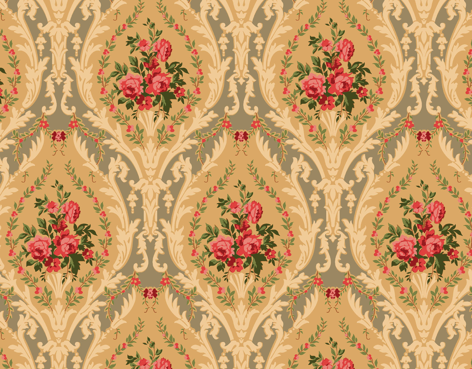 Victorian Style Wallpaper