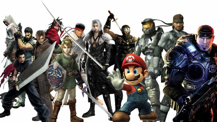 Video Game Characters Wallpaper