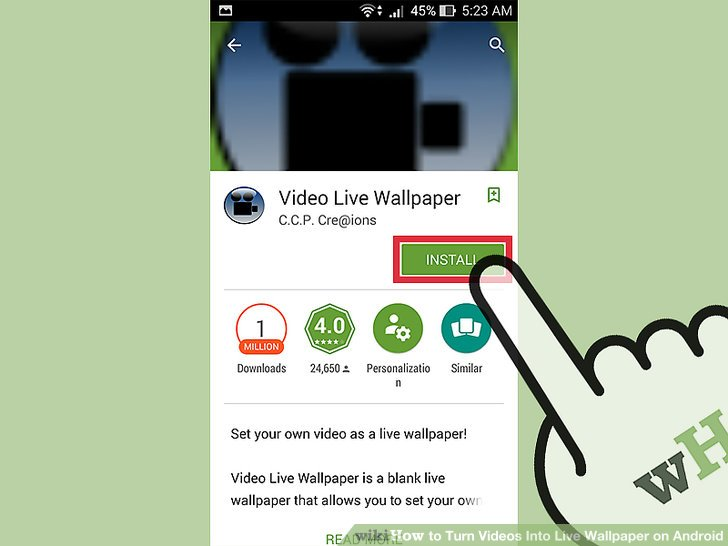 Video To Live Wallpaper Converter