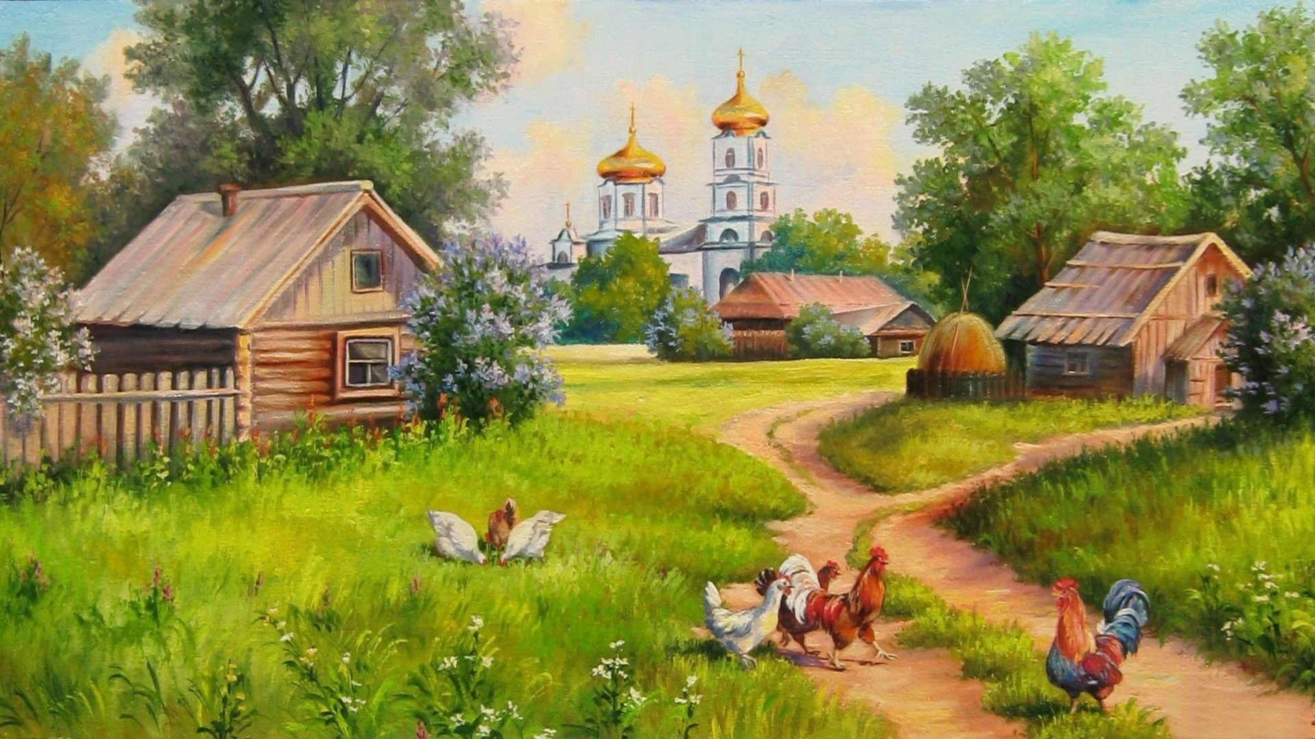 Villages Wallpaper