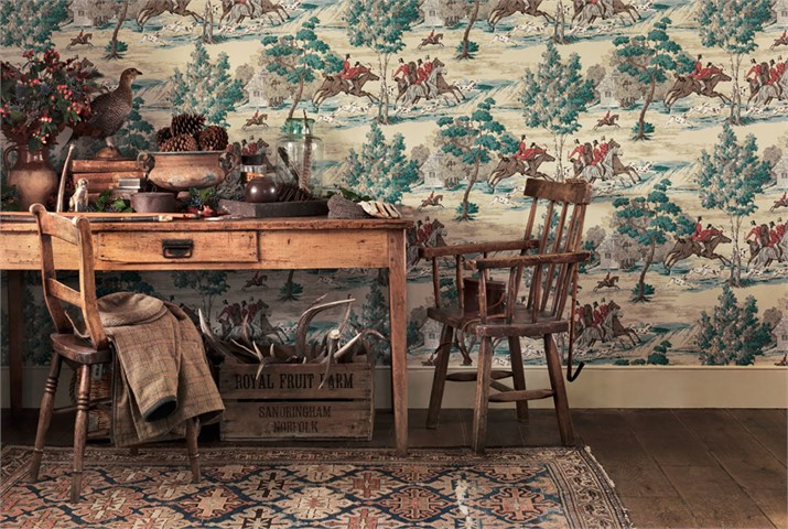 Vintage Country Wallpaper