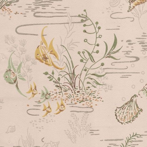 Vintage Fish Wallpaper
