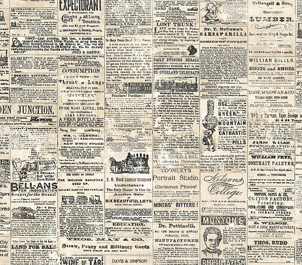 Download Vintage Newspaper Wallpaper Gallery