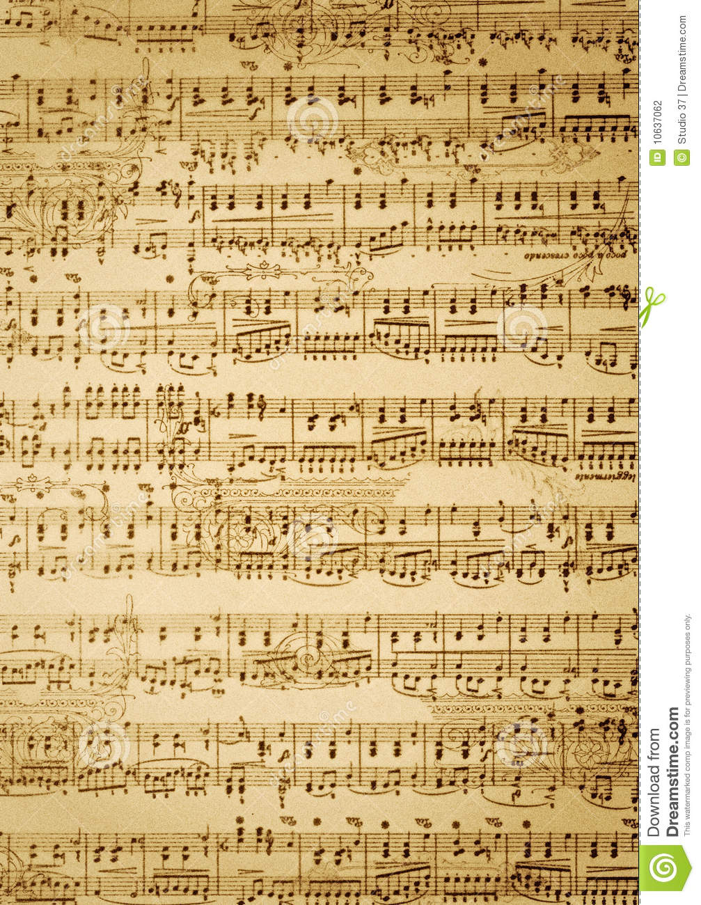 picture regarding Vintage Sheet Music Printable referred to as Obtain Basic Sheet Tunes Wallpaper Gallery