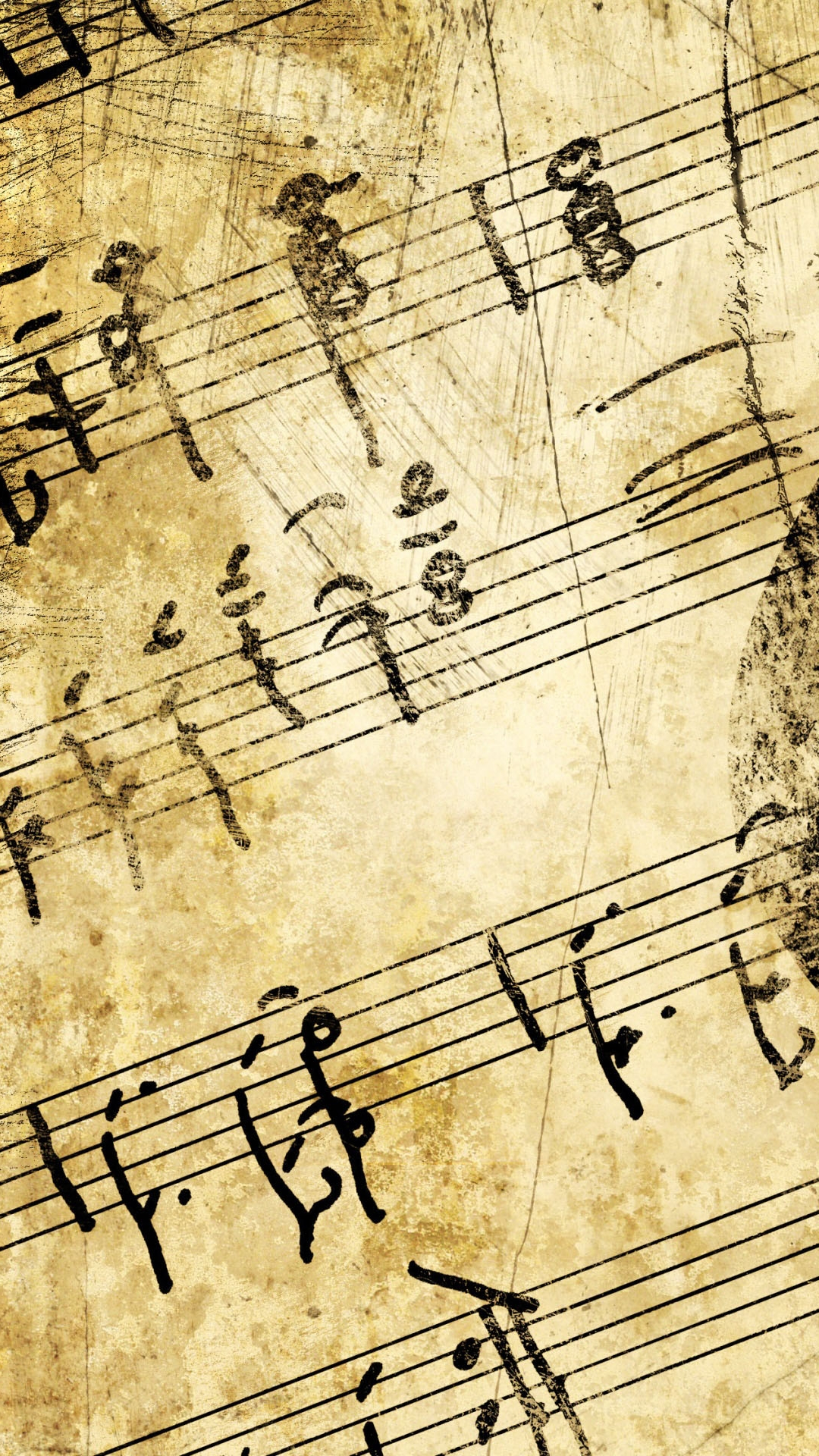 Download Vintage Sheet Music Wallpaper Gallery