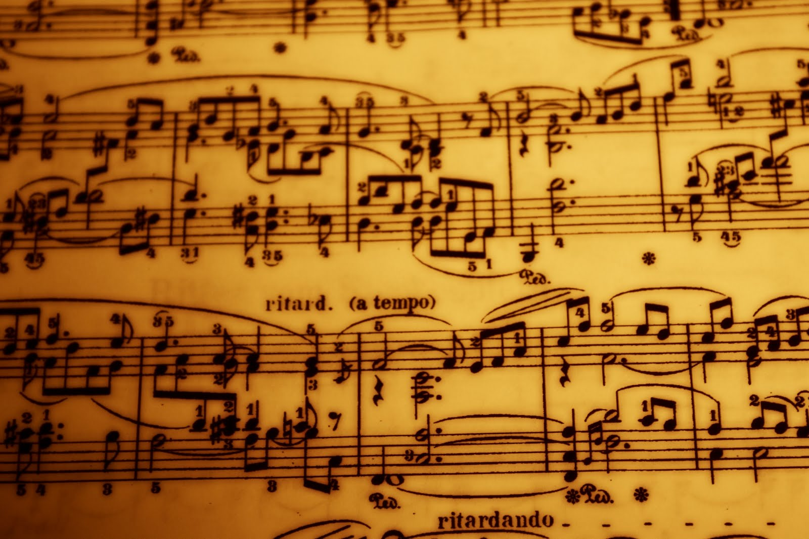 Vintage Music Note Wallpapers For Android Harmony: Download Vintage Sheet Music Wallpaper Gallery