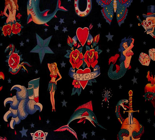 Tattoos Wallpapers Free Download: Download Vintage Tattoo Wallpaper Gallery