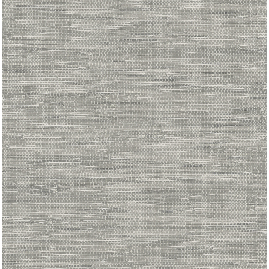Grey grasscloth wallpaper