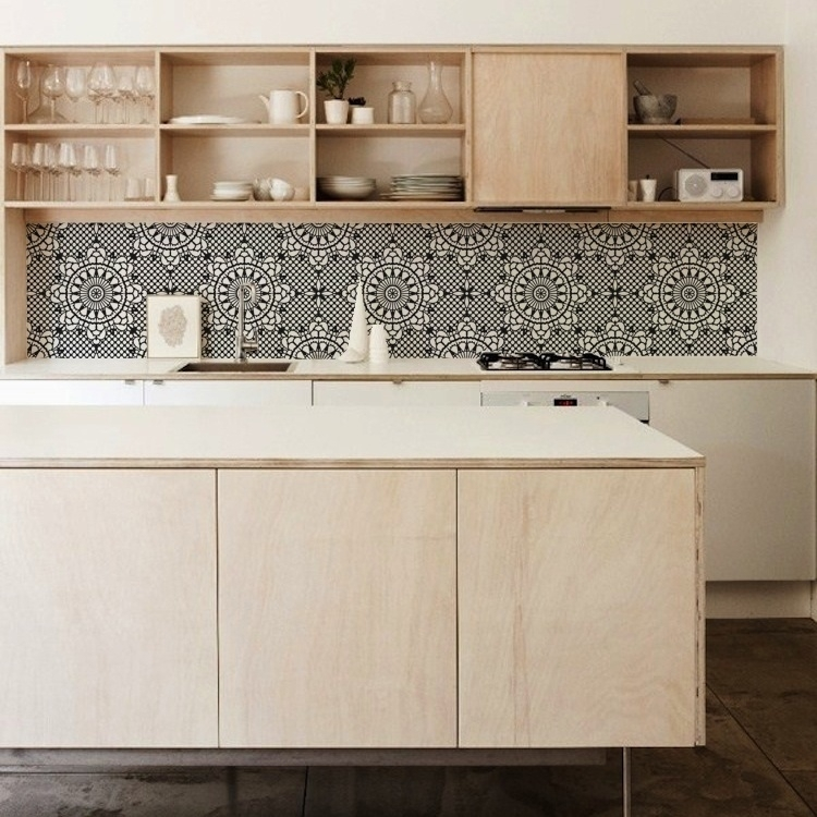 Kitchen Wallpaper Backsplash: Download Vinyl Wallpaper Kitchen Backsplash Gallery