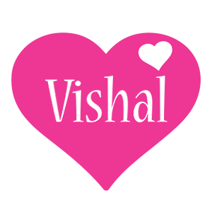 Vishal Name Love Wallpaper