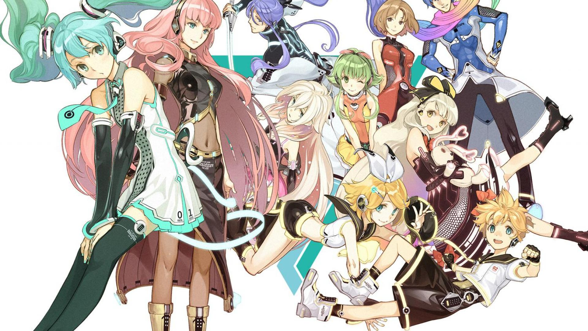 Vocaloid Group Wallpaper