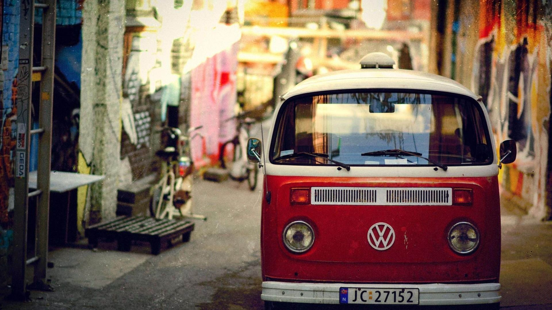 Volkswagen Bus Wallpaper