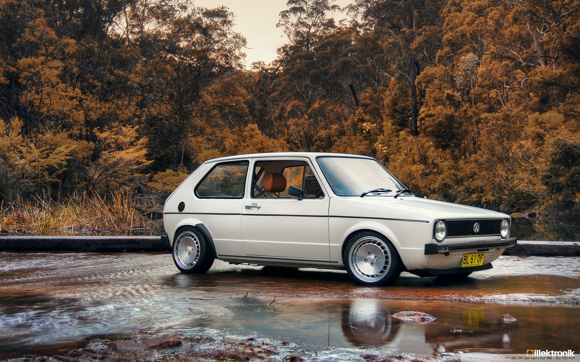 Vw Golf Mk1 Wallpaper