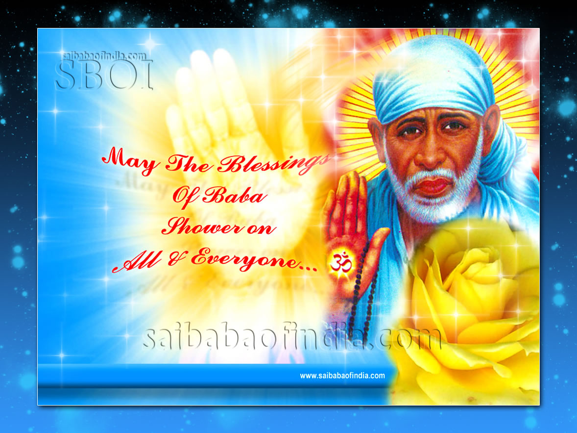 WWW Sai Baba Wallpaper Com
