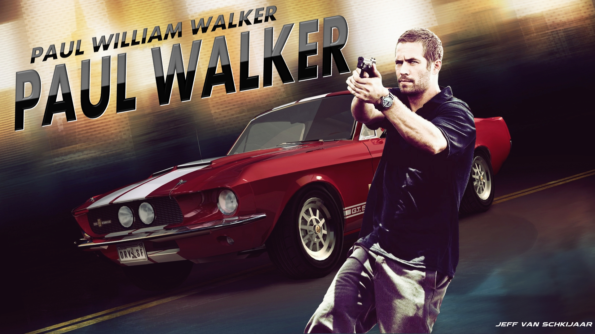 Walker Wallpaper