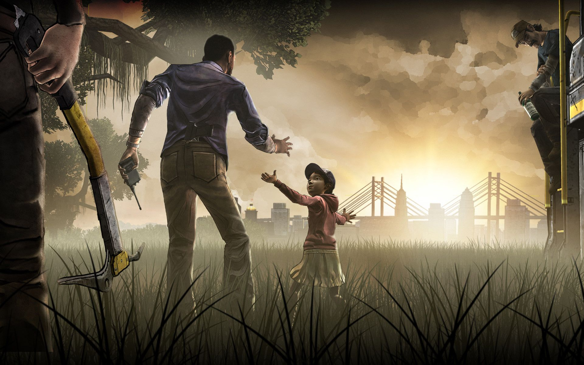 Walking Dead Game Wallpaper