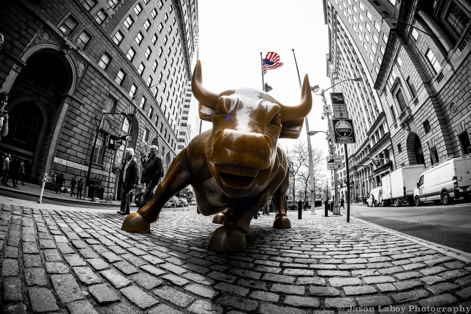 Wall Street Bull Wallpaper