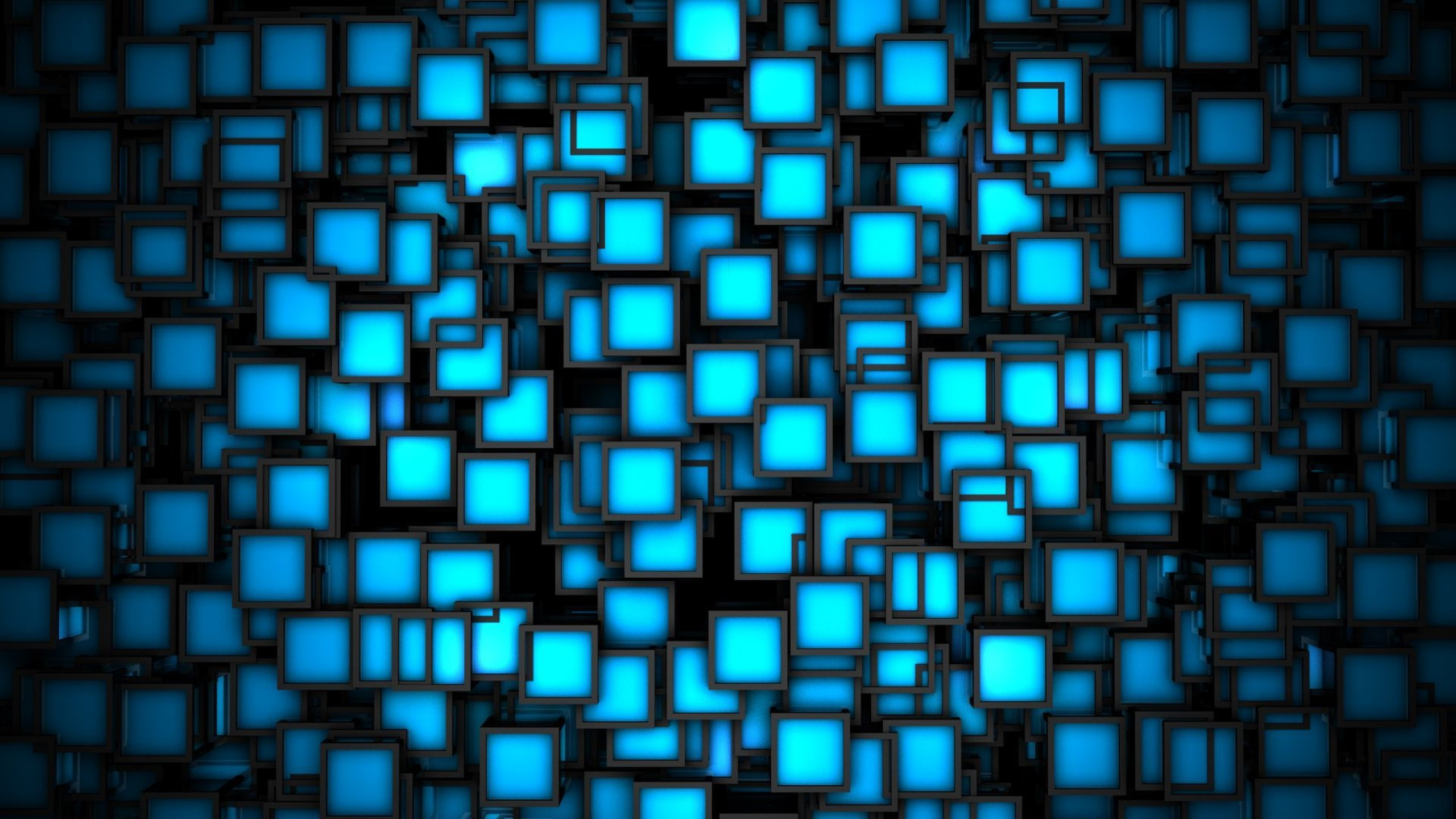 Wallpaper 3D Blue