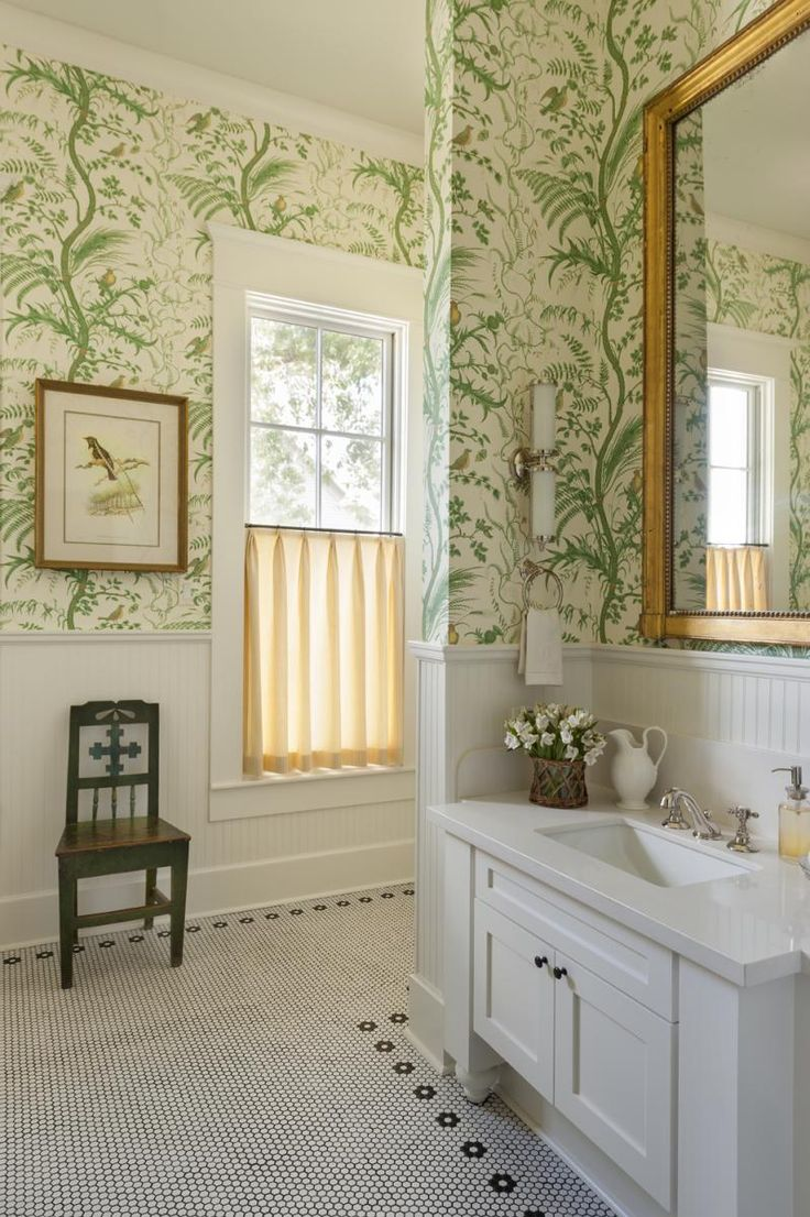 Wallpaper A Bathroom