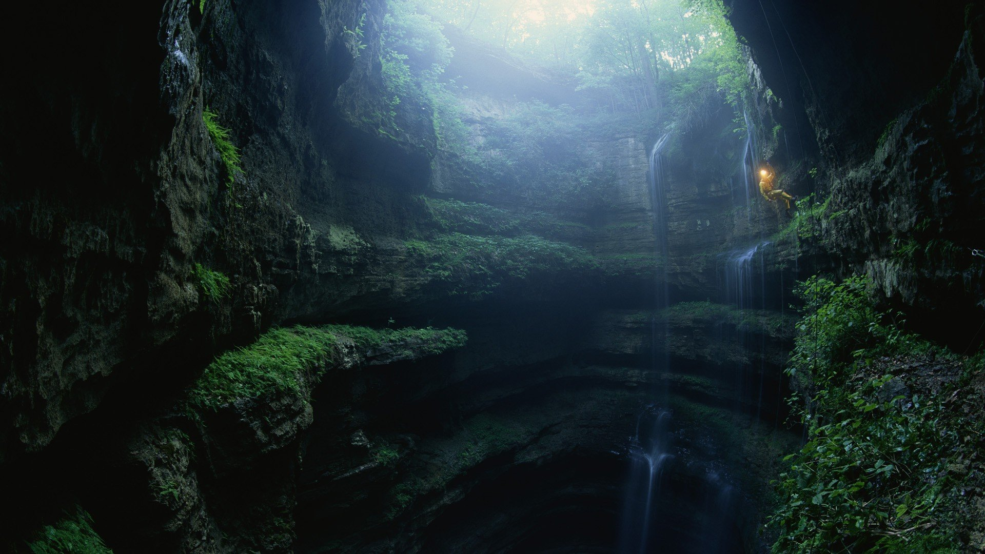 Wallpaper Abyss Nature
