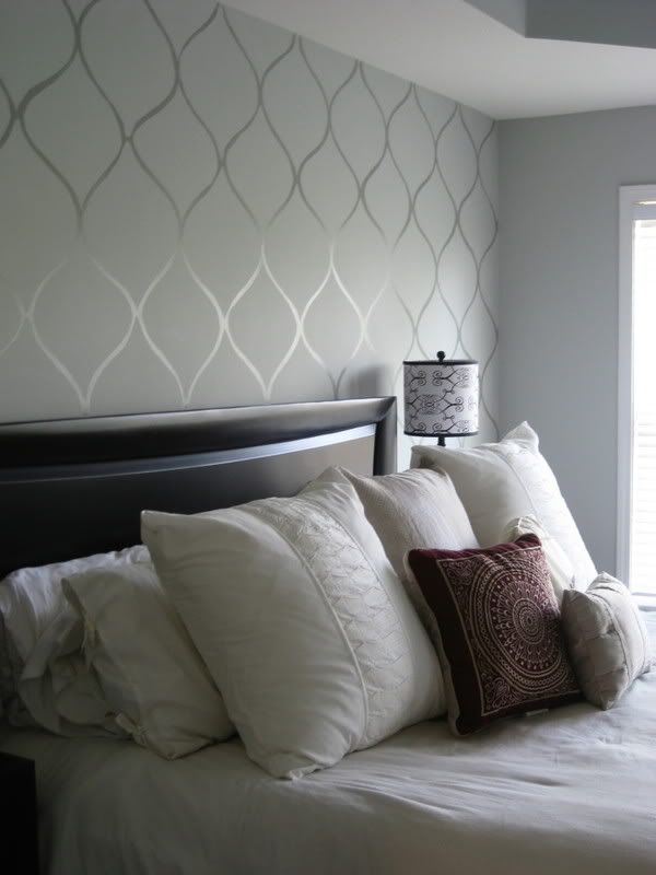 Wallpaper Accent Wall In Bedroom