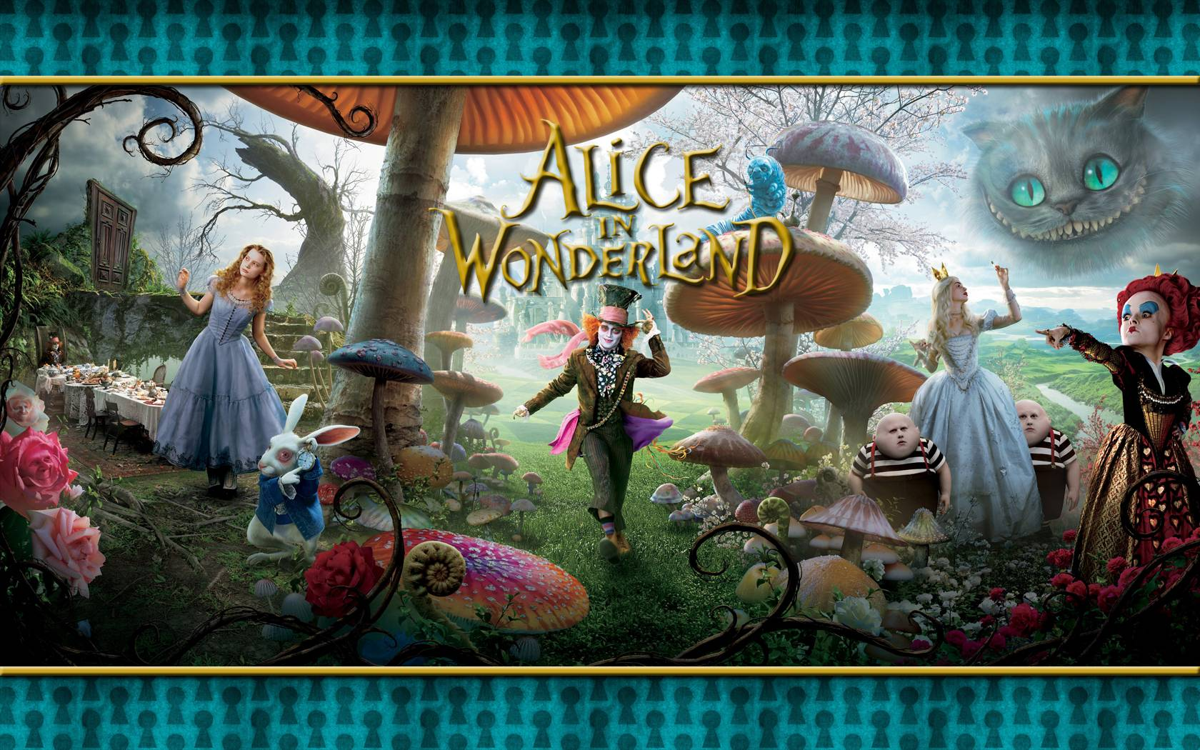 Wallpaper Alice In Wonderland