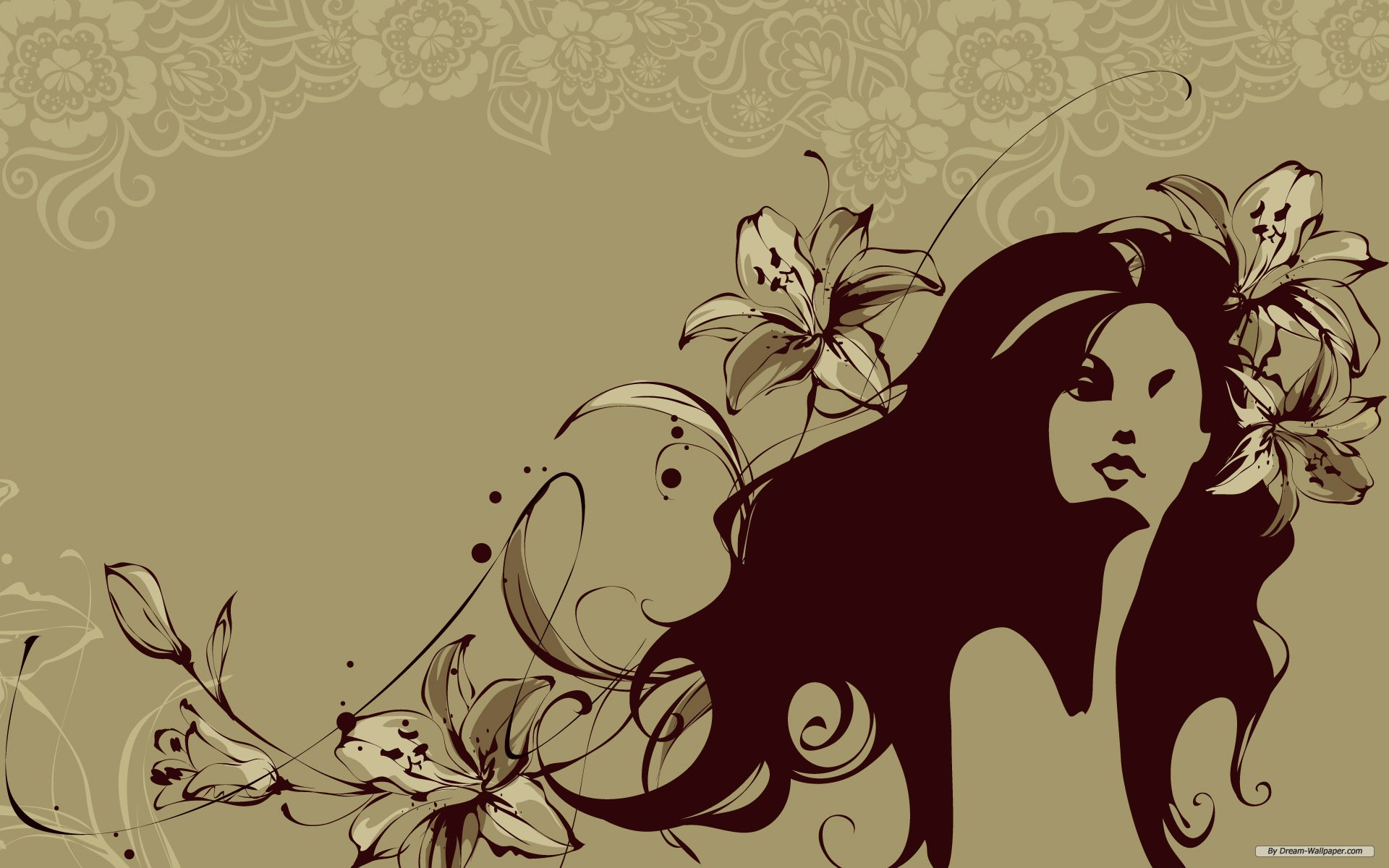 Wallpaper Art Women