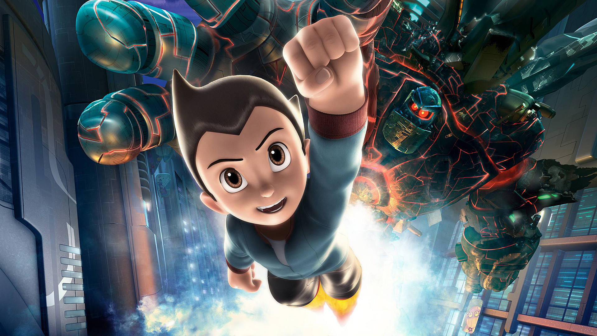 Wallpaper Astro Boy