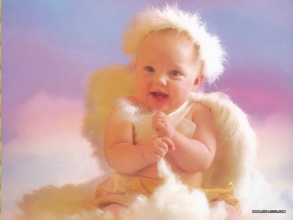 Wallpaper Baby Angel