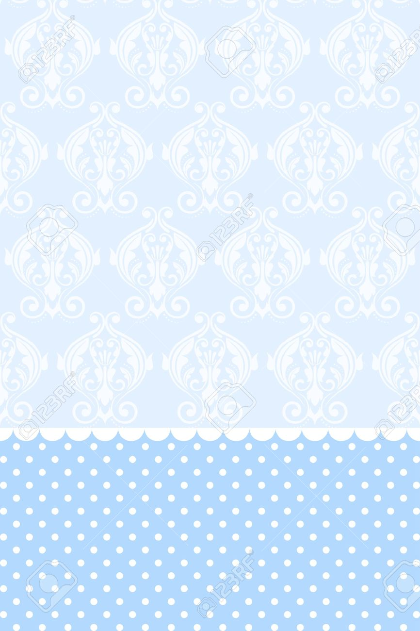 Wallpaper Baby Blue