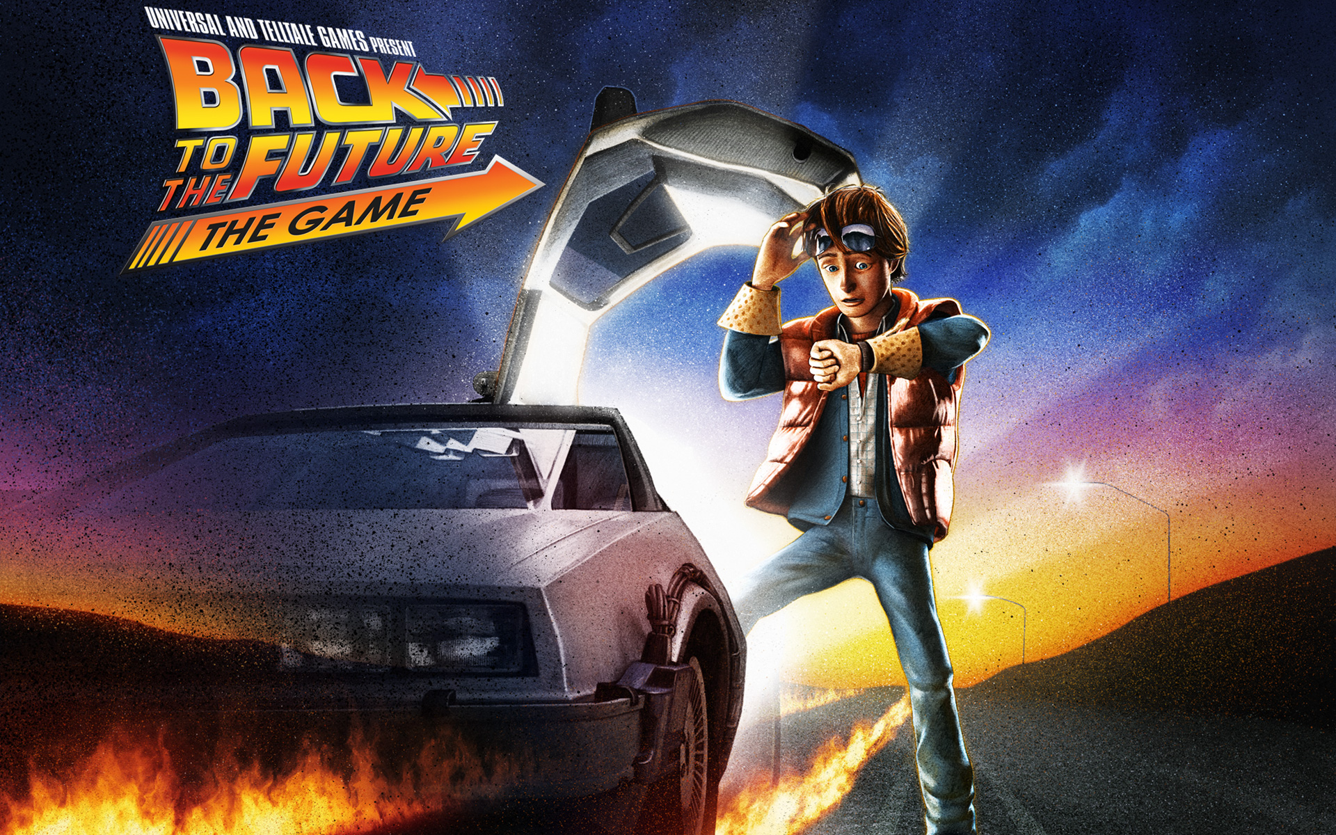 Wallpaper Back To The Future