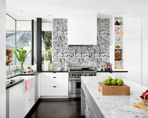 Wallpaper Backsplash