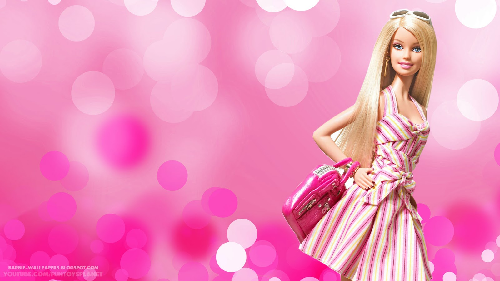 Wallpaper Barbie