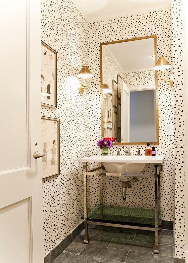 Wallpaper Bathroom Ideas