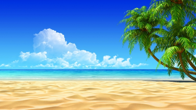 Wallpaper Beach