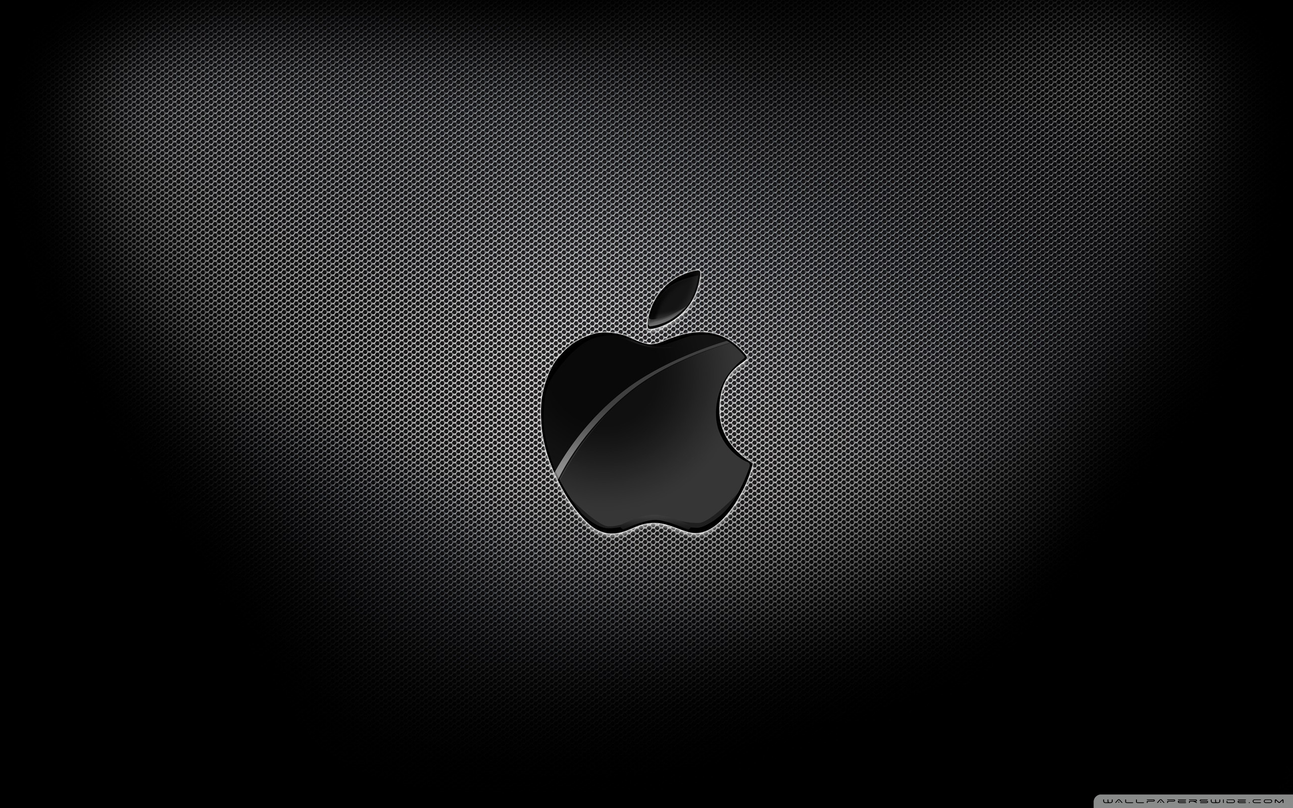 Wallpaper Black Apple