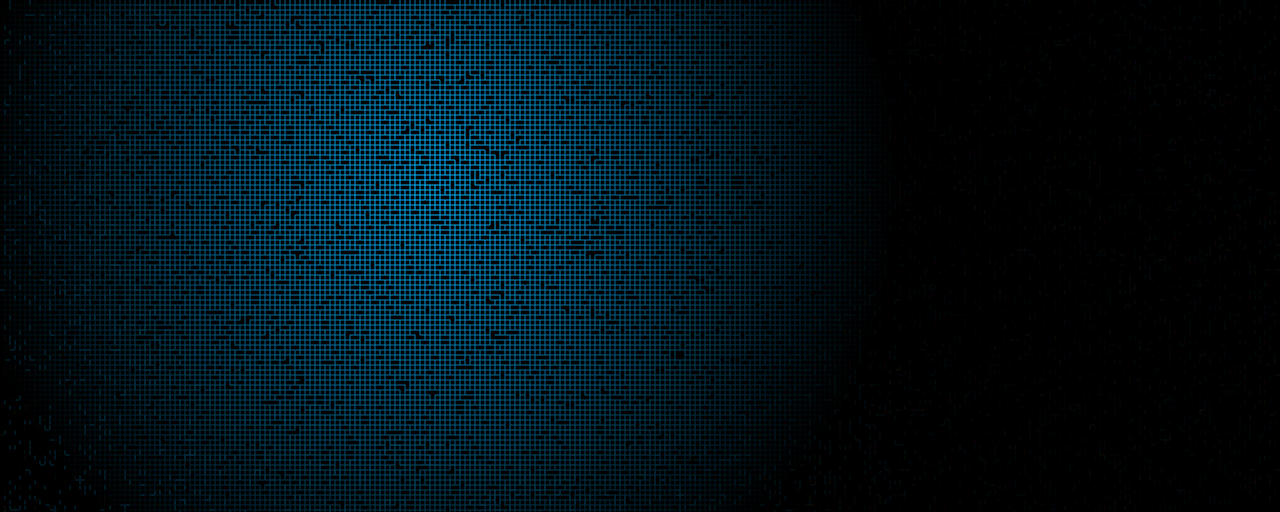 Wallpaper Blue Black