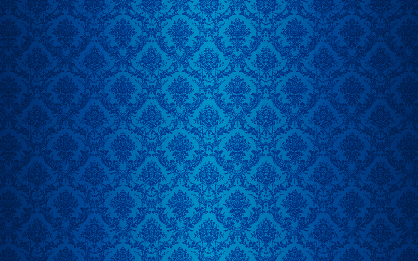 Wallpaper Blue Damask