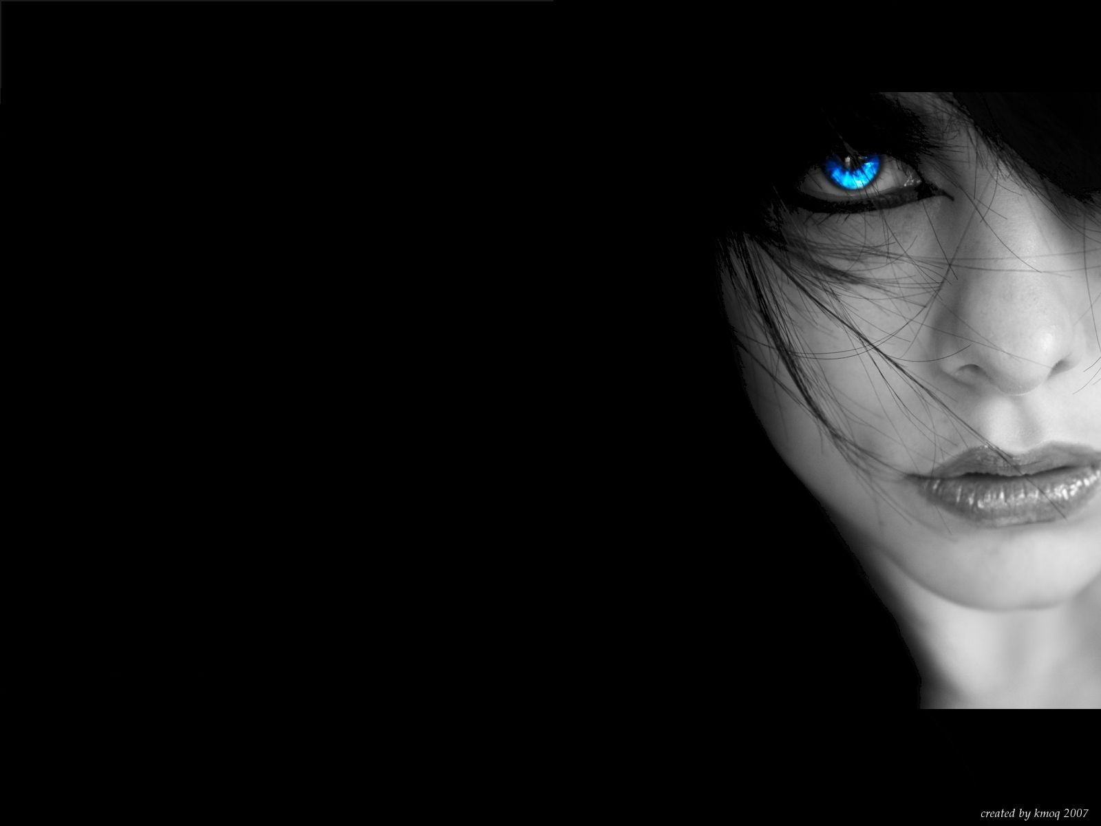 Wallpaper Blue Eyes