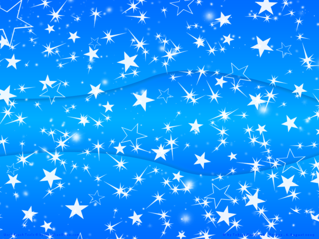 Wallpaper Blue Stars