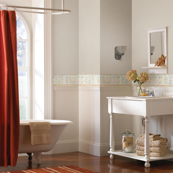 Wallpaper Border For Bathrooms