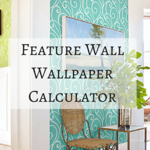 Wallpaper Calculator Feature Wall