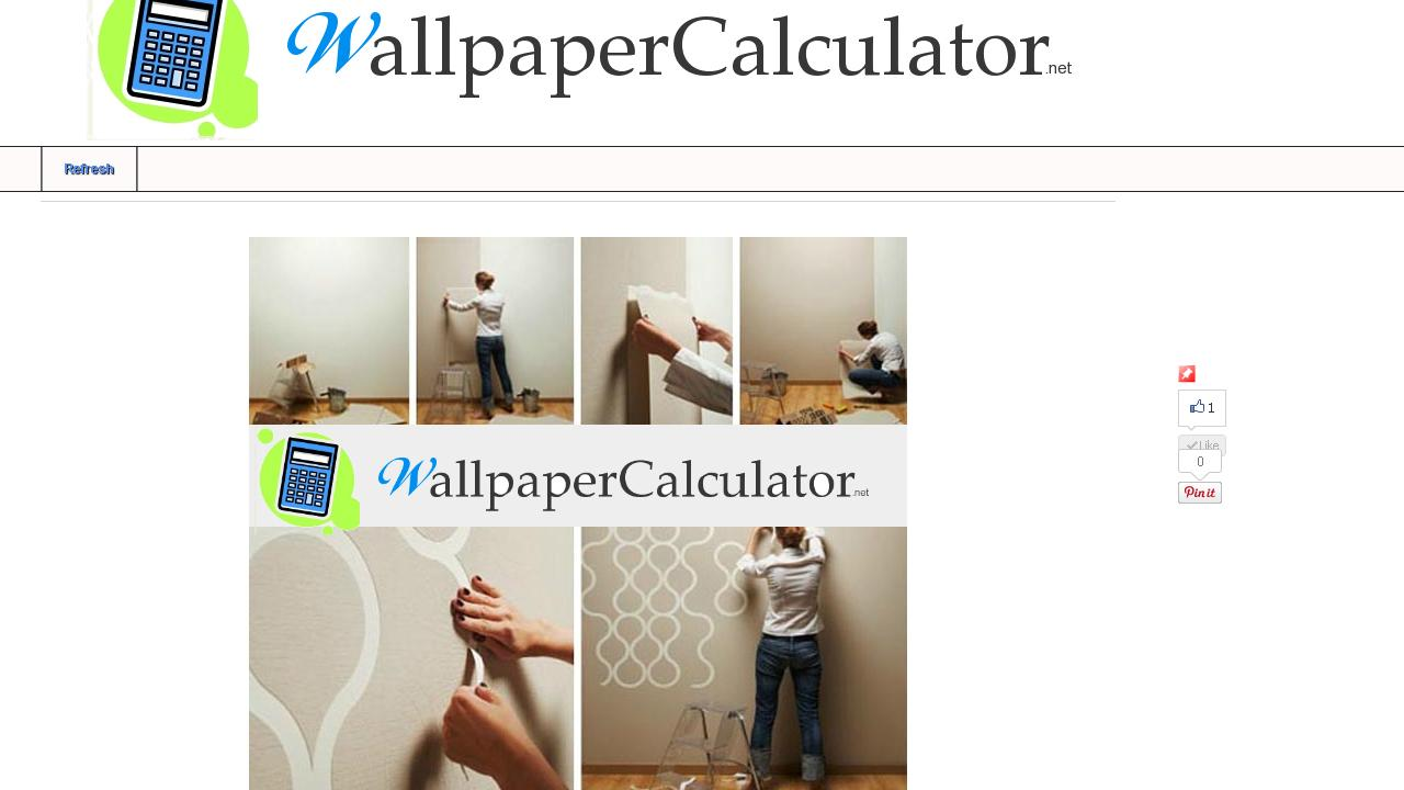 Wallpaper Calculator Feet