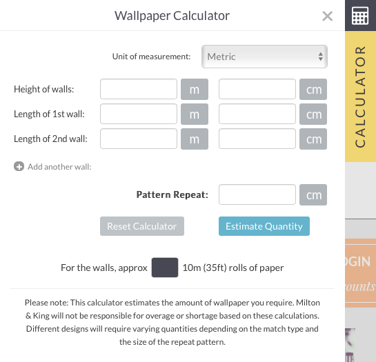 Download Wallpaper Calculator Including Pattern Repeat Gallery