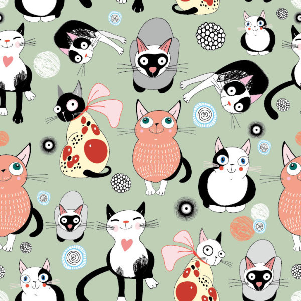 Wallpaper Cartoon Cat