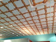 Wallpaper Ceiling Tiles
