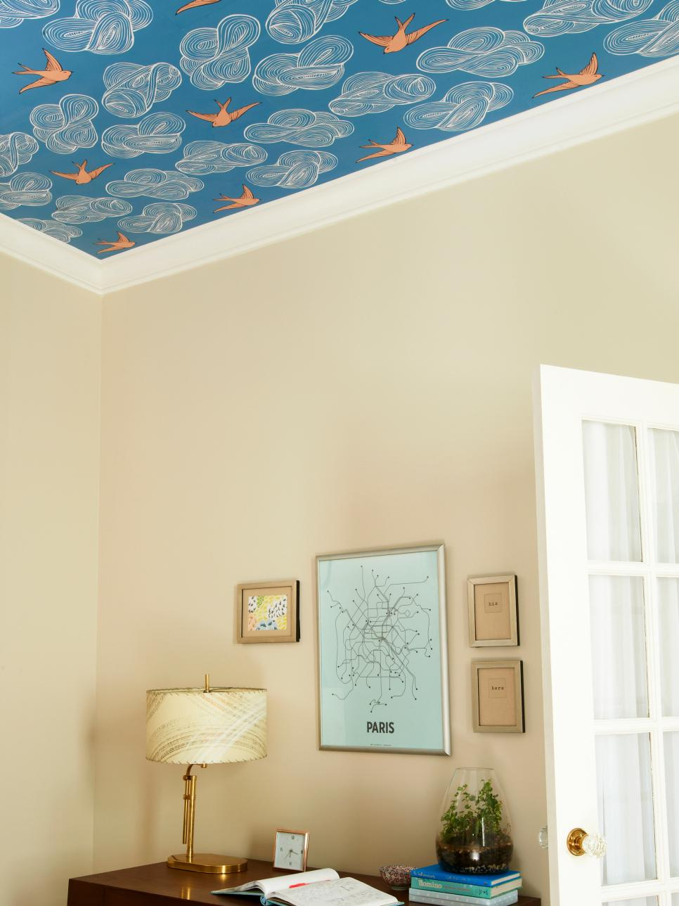 Wallpaper Ceiling