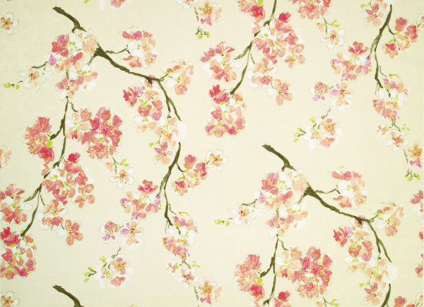 Wallpaper Cherry Blossom Design